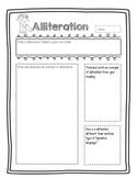 Figurative Language Graphic Organizers