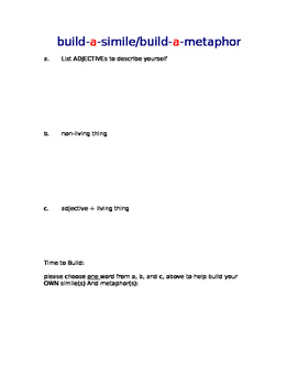 Figurative Language Handout