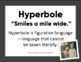 Learning About Hyperbole: Anchor Chart, Tall Tales, and Poetry