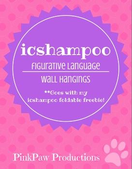 Figurative Language-ICSHAMPOO Wall Hangings
