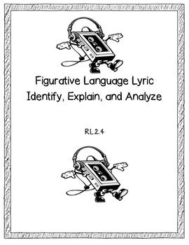Figurative Language Identify, Explain, and Analyze in Lyrics