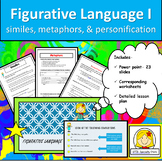 Figurative Language: Identify and Create Similes, Metaphor