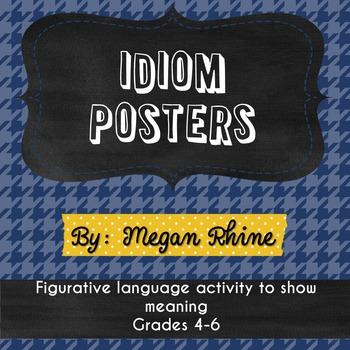 Figurative Language-Idiom Posters