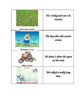 Figurative Language Idioms