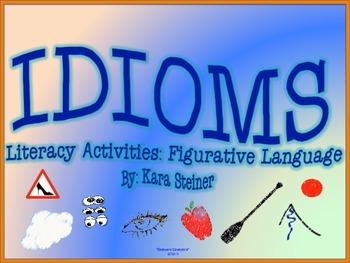Figurative Language Matching Cards