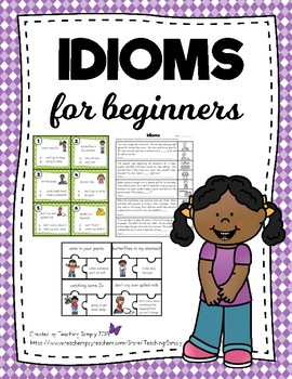 Figurative Language Idioms for Beginners