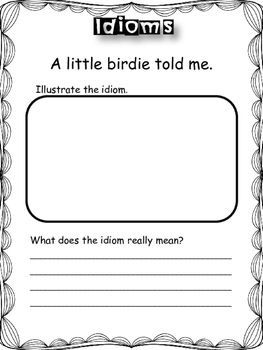 Figurative Language: Idioms Activities and Games