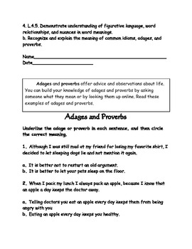 Adages and Proverbs- Benjamin Franklin | Worksheets, Students and ...