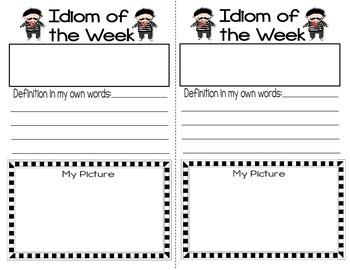 Figurative Language: Iggy Idiom's Idiom of the Week