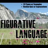 Figurative Language Instructional PowerPoint