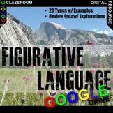 Figurative Language Instructional Slideshow (Digital Dista