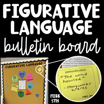 Figurative Language Interactive Bulletin Board By Miss 5th