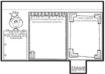 Figurative Language Interactive Lap Flip Book