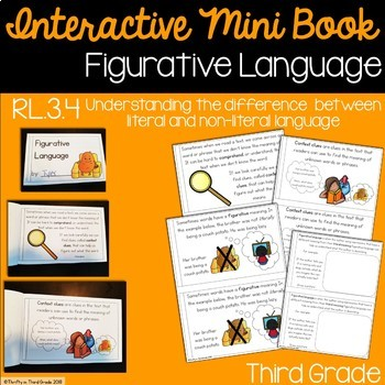 Figurative Language Interactive Mini Book {RL.3.4}