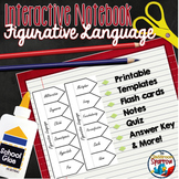 Figurative Language Interactive Notebook: Activities for Middle and High School