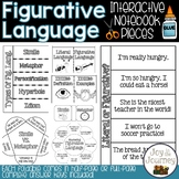Figurative Language Interactive Notebook Foldables