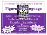 Figurative Language Interactive Notebook Graphic Organizers Fold-Ems