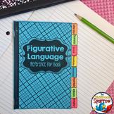 Figurative Language: Interactive Notebook Mini Flip Book