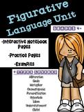 Figurative Language Interactive Notebook Mini Unit