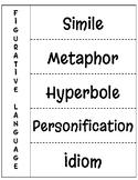Figurative Language - Interactive Notebook Page