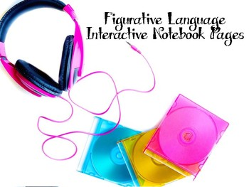 Figurative Language Interactive Notebook Pages