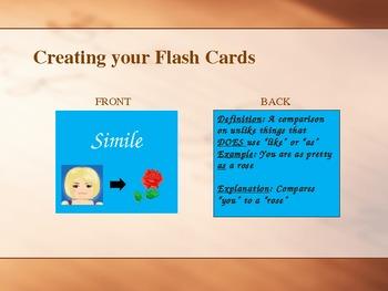 Figurative Language Interactive Powerpoint 2013