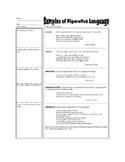 Figurative Language Intro. Lesson