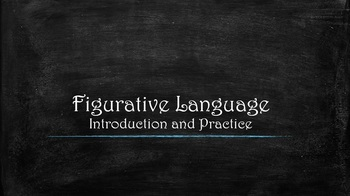 Figurative Language: Introduction and Practice Packet