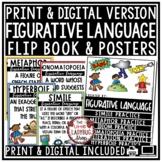 Figurative Language Activities Flip Book 4th Grade & Figurative Language Posters
