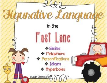 Figurative Language: Similes, Metaphors, Personifications, Idioms, Hyperboles