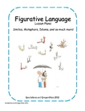 Figurative Language Lesson Plan Packet