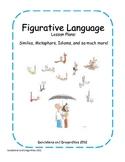 Figurative Language Lesson Plan Packet