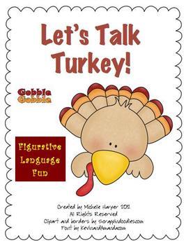 Figurative Language Let's Talk Turkey