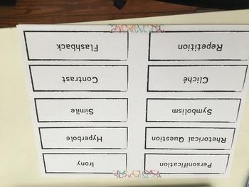 Figurative Language Linking Game