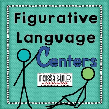 Figurative Language Literacy Center Pack