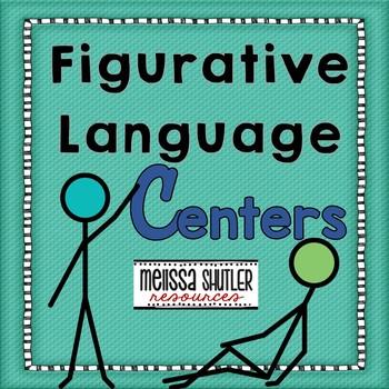 Figurative Language Literacy Center Pack