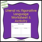 Figurative Language - Literal vs. Figurative Language