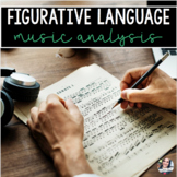 Figurative Language / Literary Device Music Analysis
