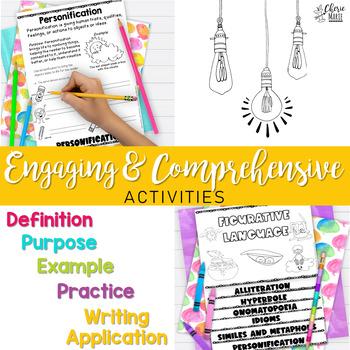 Figurative Language 3rd Grade / 4th Grade / 5th Grade RL3.4 RL4.4 RL5.4
