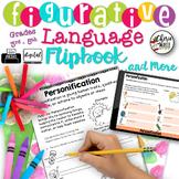Figurative Language Posters Activities Worksheets Flipbook RL3.4 RL4.4 RL5.4