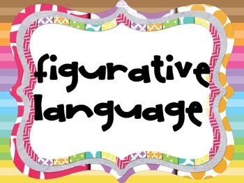 Figurative Language / Literary Devices Posters