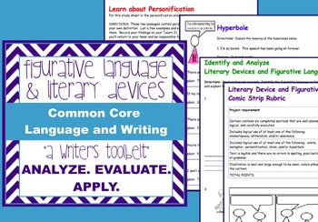 Figurative Language +Literary Devices-similes, hyperboles, idioms, etc.