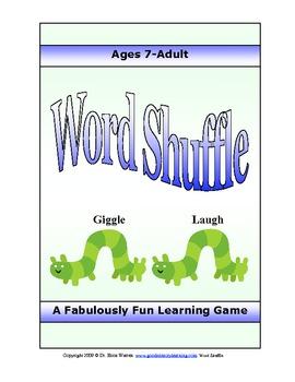Figurative Language Literary Term and Grammar Game - Word Shuffle