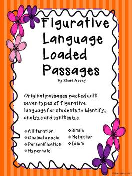 Figurative Language Loaded Passages