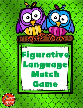Figurative Language Match Game