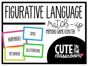 Figurative Language Match-Up