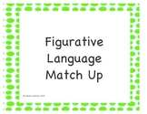 Figurative Language Match Up Puzzles
