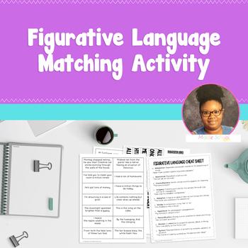Figurative Language Matching Activity