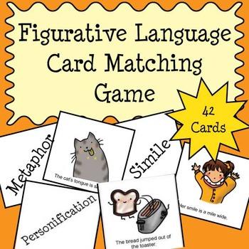 Figurative Language Matching Card Game