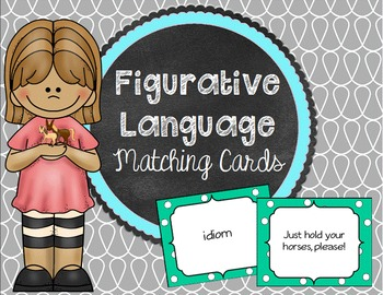 Figurative Language Matching Cards - Concentration